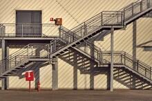 Staircase Of Bridge