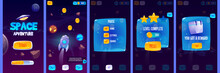 Gui App Screens For Space Adve...