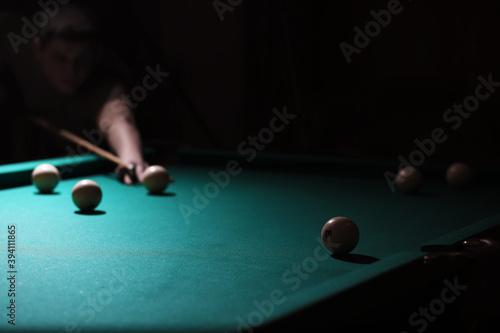 Fotografering Billiard club