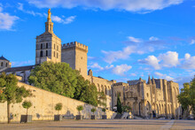 Avignon, Palace Of The Popes, ...