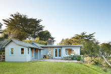Rustic Cottage In Bolinas, California