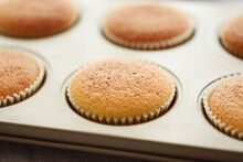 Home Made Sweet Orange Cupcake