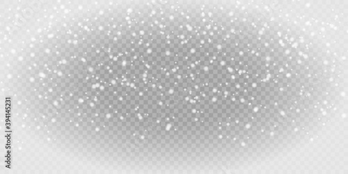 Fotografie, Tablou Snow png background
