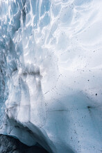 Close Up Of Ice Cave