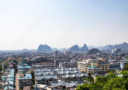 Fotografía Paysage urbain à Guilin, Chine