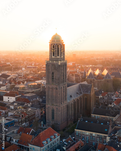 Fotografia, Obraz Peperbus Zwolle centrum