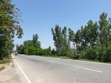 Road Through Green Lands Are E...