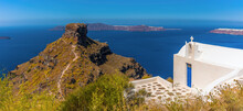A Panorama View Of A Cliffside...