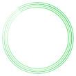 Geometric circular spiral, swirl and twirl. Cochlear, vortex, volute shape