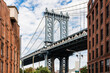 DUMBO district in Brooklyn. New York City, USA.