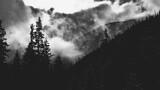 Pochmurny dzień w górach, Tatry, Polska