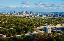 Panoramic View San Fernando Valley Looking Towards Culver City And Los Angeles California