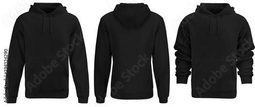 Fotografía Black hoodie template