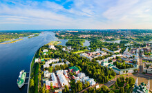 Yaroslavl City, Volga River Ae...
