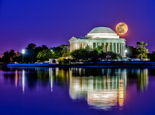 Jefferson Memorial At Night In...