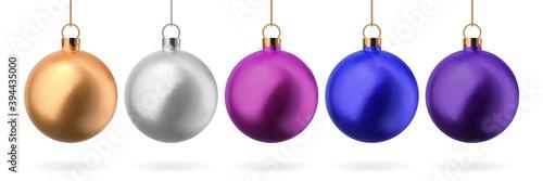 Fotografia Christmas balls