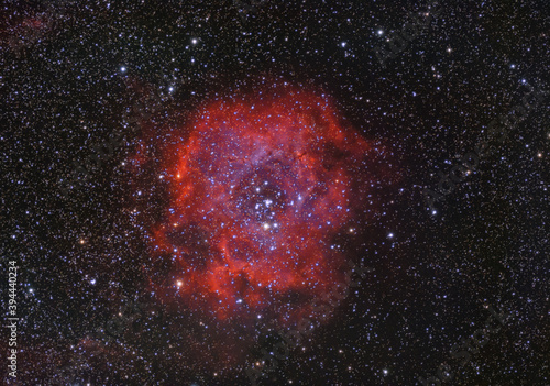 Rosette Nebula High Resolution Space Picture Fotobehang