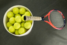 Tennis Balls And Tennis Racquet, Sweden