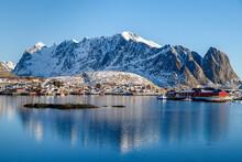 Lofoten Islands, Norway. Color...