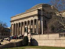 The Low Memorial Library Of Columbia University. The Building Now Consists Almost Solely Of Administrative Offices  In New York City, USA