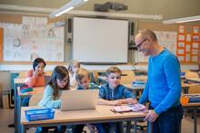 Teacher In Classroom, Sweden