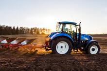 Tractor Plowing Field, Sweden