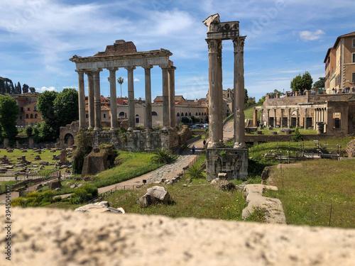 Foto roman forum city