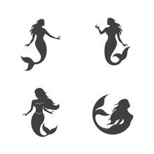 Mermaid Vector Illustration Design