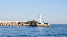 Lighthouse In The Yalta Bay. T...