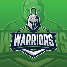 Spartan Warrior E Sport Logo Concept