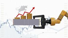 Stock Market Streams Up With E...