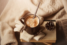 Winter Still Life - A Hot Cup ...
