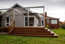 Home Extension Of Weatherboard...