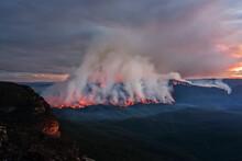 Views Of The Bush Fire At Moun...