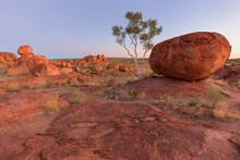 Red Balancing Rock