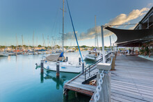 Cullen Bay Marina Yachts In Darwin