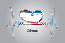 Hand Painted Heart And Crimea ...
