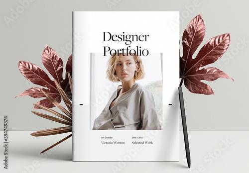 Portfolio Booklet Layout