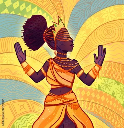 Photo Yoruba goddess Oshun (Oxum in Latin America)