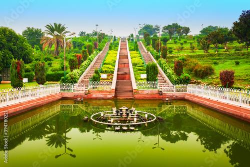 Obraz na plátně Bagh e Bahu garden in Jammu