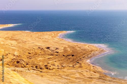 Dead Sea sinkholes November 2020 Israel Fototapeta