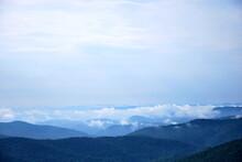 Landschaft Am Blue Ridge Parkway, North Carolina