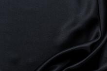 Full Frame Shot Of Black Fabric