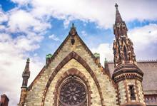 United Methodist Church Exterior Baltimore Maryland