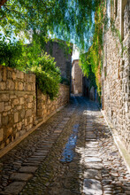 A Quaint Cobbled Back Street I...