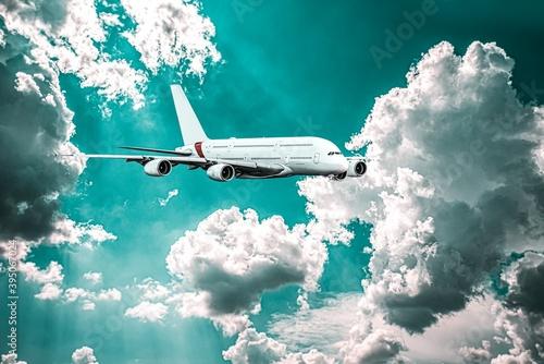 plane took off into the sky, altitude .