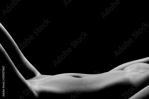 Fototapeta premium Bodyscape - Female nude body details