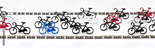 Obraz na plátně bike race