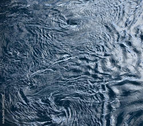 Fotografia Whirlpools on the Ocean Surface