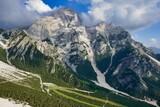 Fototapeta Na sufit - view of mountains, photo as a background, photo as a background , in pasubio mountains, dolomiti, alps, thiene schio vicenza, north italy